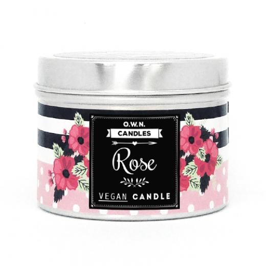 dišeča sveča vrtnica
