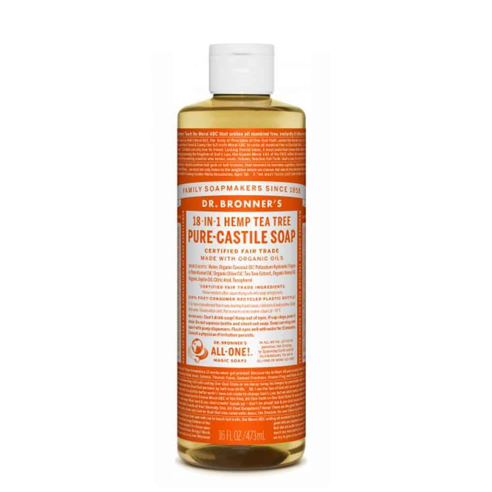 Dr Bronner's milo tea tree