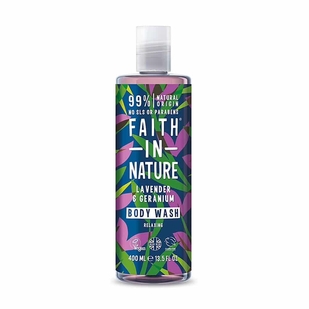 naravni gel za prhanje